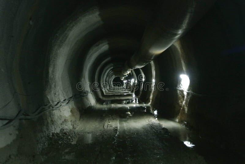 Конструкция тоннеля, восточное Hercegovina стоковое изображение