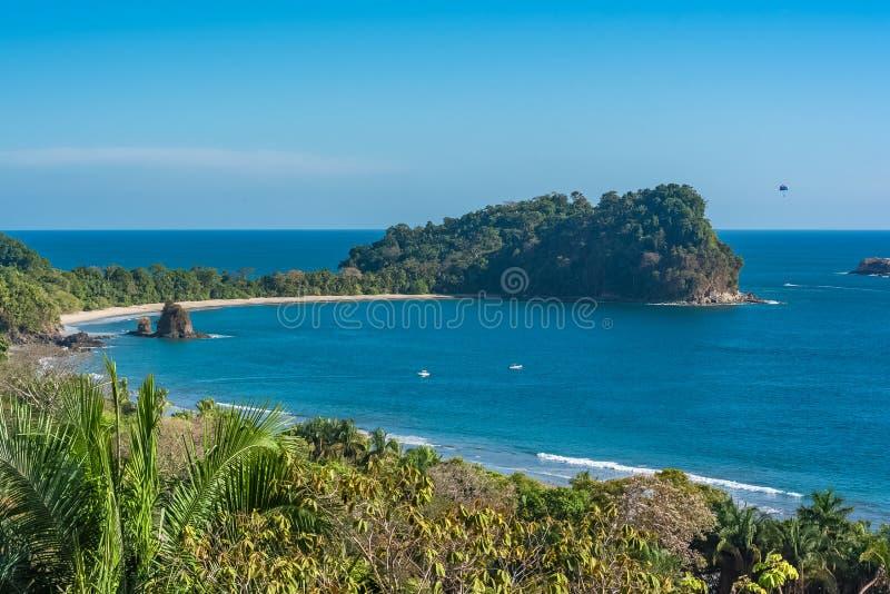 Коста-Рика, пляж стоковое изображение rf