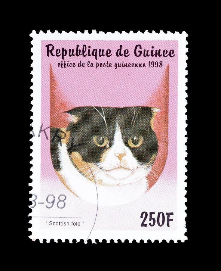 Коты на печатях почтового сбора стоковое фото