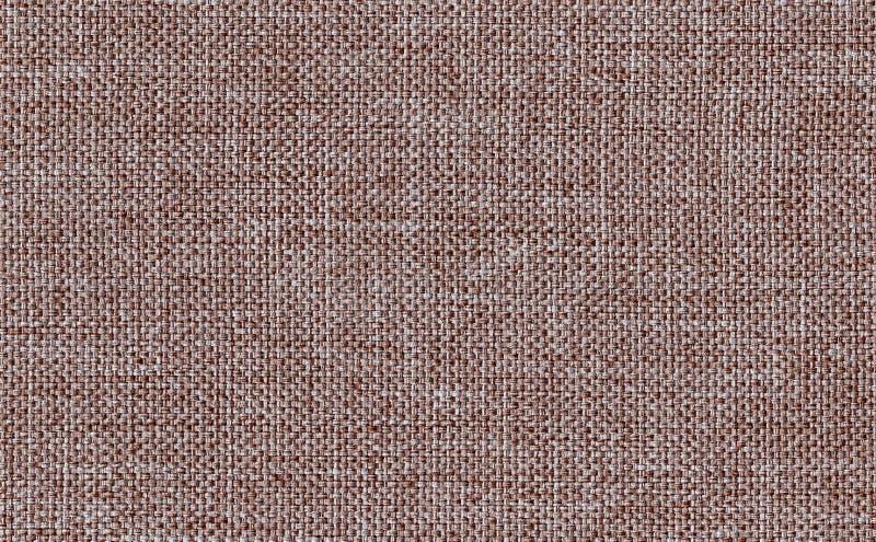 Коричневый цвет крупного плана темный с белым фоном текстуры образца ткани цвета Линия прокладки дизайн ткани Брауна картины, дра стоковое изображение