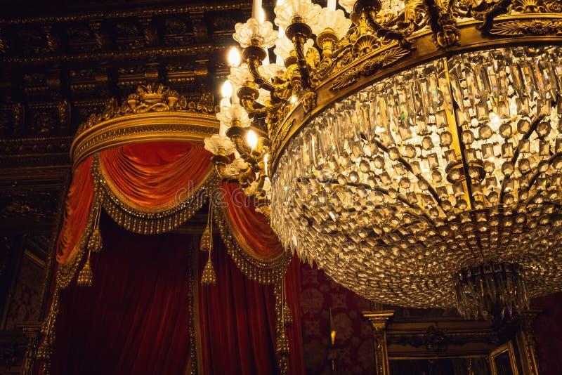 Королевский дворец Турина, Пьемонта Италии стоковая фотография rf