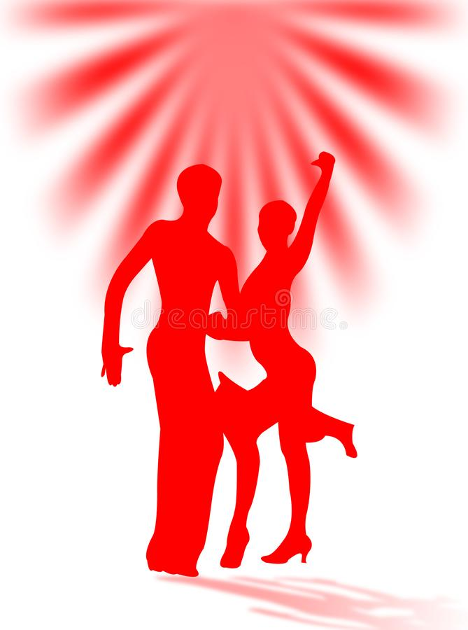 Латинская танцулька стоковые изображения rf