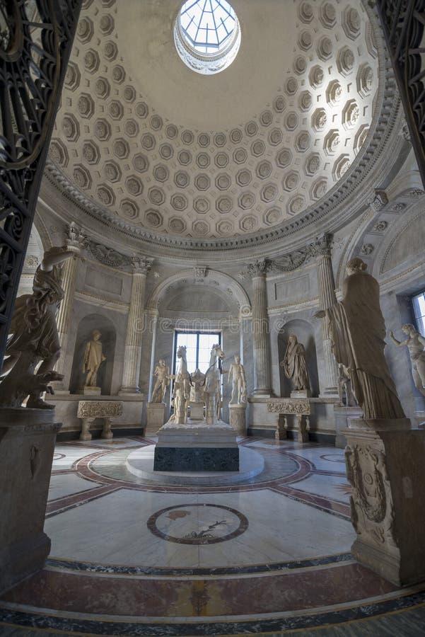 лестница vatican rome музея Италии двойного helix стоковая фотография rf