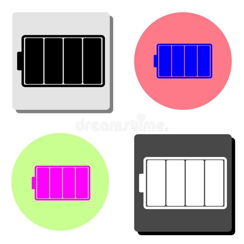 линкора Плоский значок вектора иллюстрация вектора