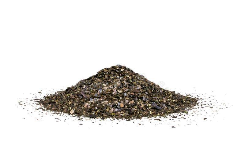 Листья чая Guayusa стоковые фото
