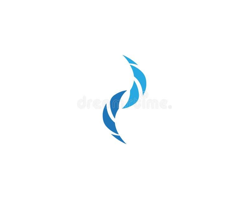 Логотип значка реки бесплатная иллюстрация