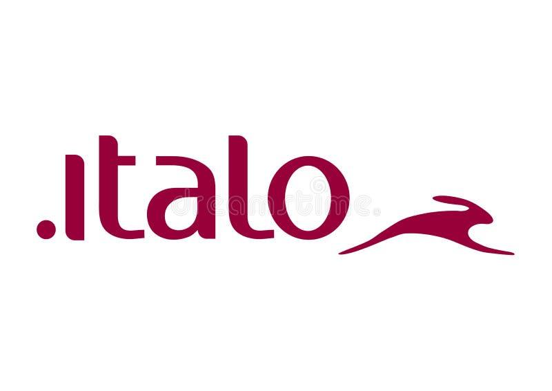 Логотип Italo иллюстрация вектора