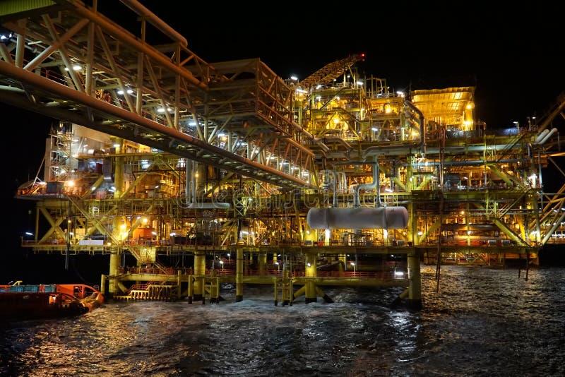 масло газовой промышленности стоковое изображение