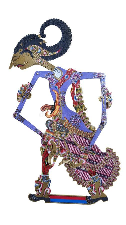 Марионетки aka Wayang Kulit стоковое изображение