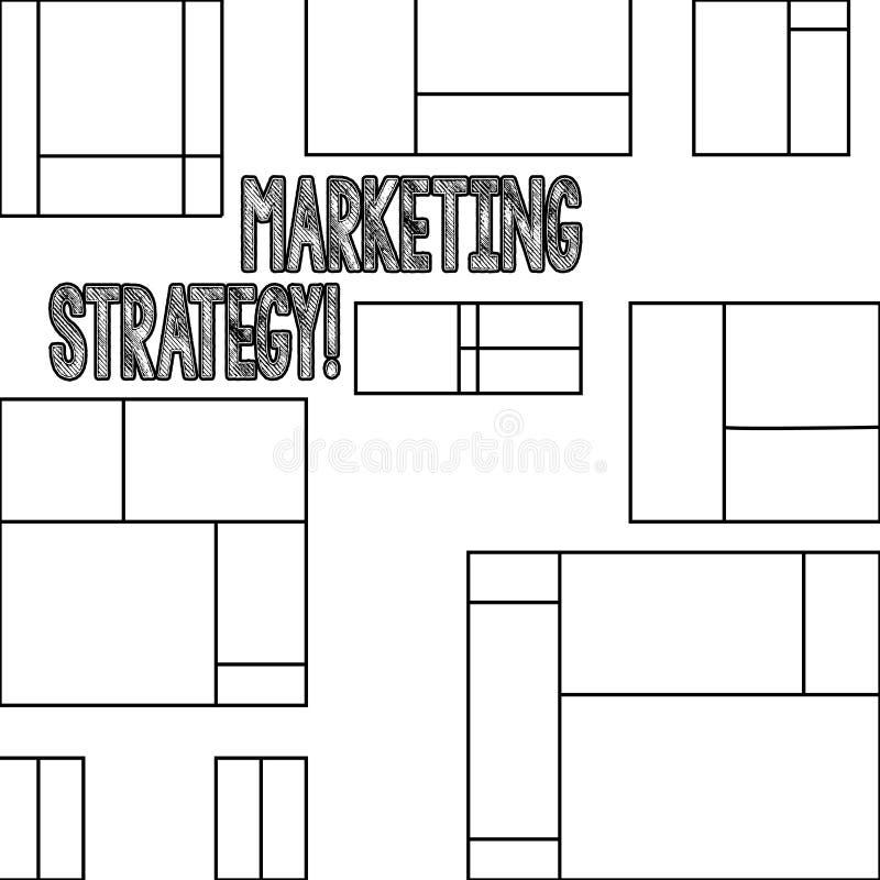 Маркетинговая стратегия текста почерка Научно-исследовательская организация творческих способностей формулы плана смысла концепци иллюстрация штока