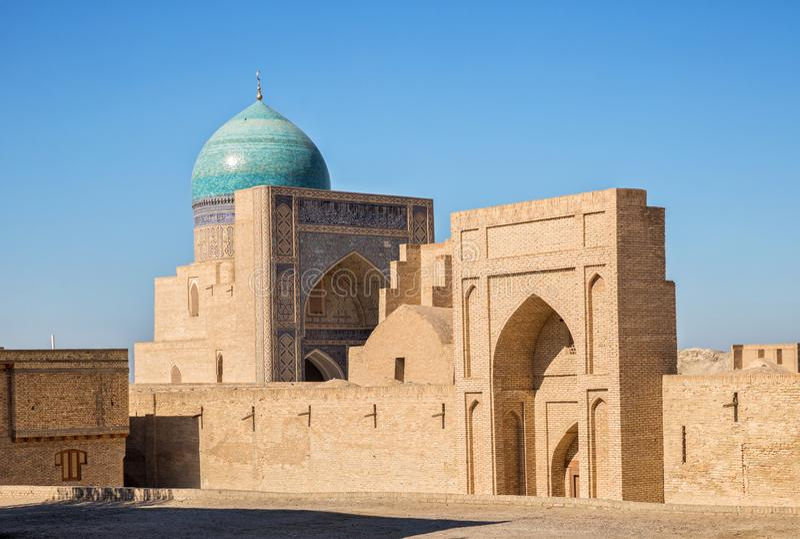 мечеть bukhara kalyan стоковые изображения rf