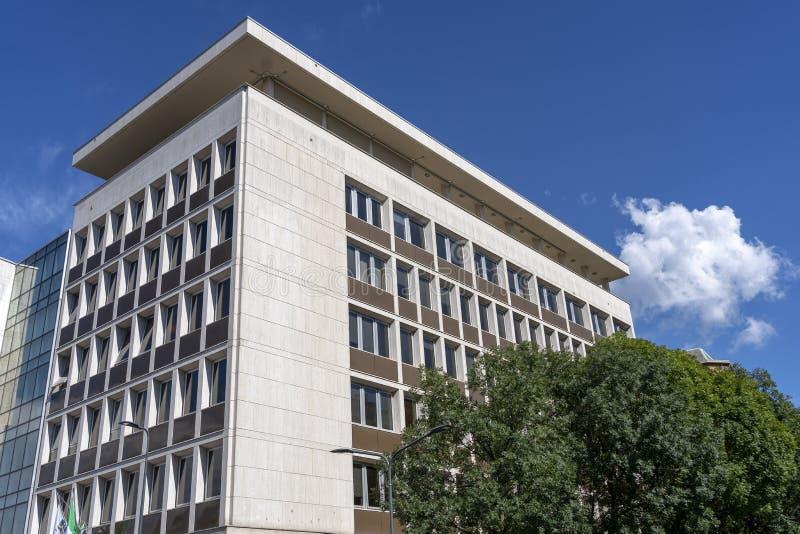 милан здания самомоднейший стоковая фотография rf