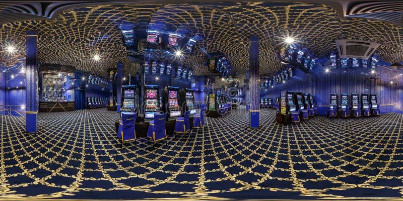 МИНСК, БЕЛАРУСЬ - 3-ЬЕ ФЕВРАЛЯ 2015: полностью панорама 360 градусов в equirectangular сферически проекции в современном роскошно стоковые изображения rf