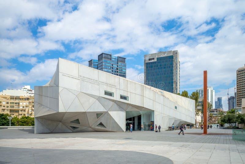 Музей изобразительных искусств Тель-Авив в Израиле стоковое изображение rf