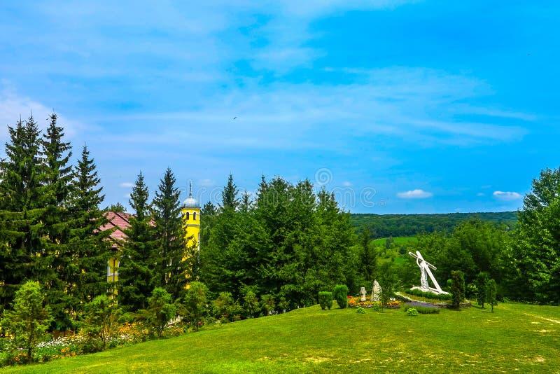 Монастырь 06 Bursuc Hancu стоковое изображение