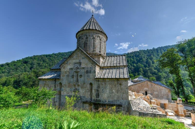 Монастырь Haghartsin - Армения стоковое изображение rf