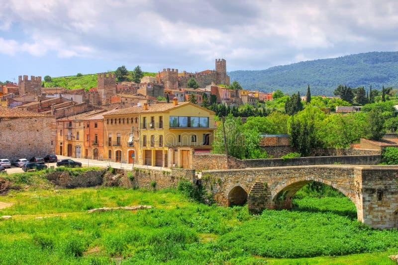 Монблан, провинция Таррагона, Каталония стоковая фотография rf