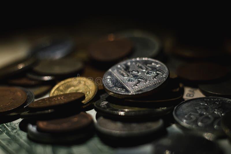 Монетки американских ценных бумаг стоковые фото