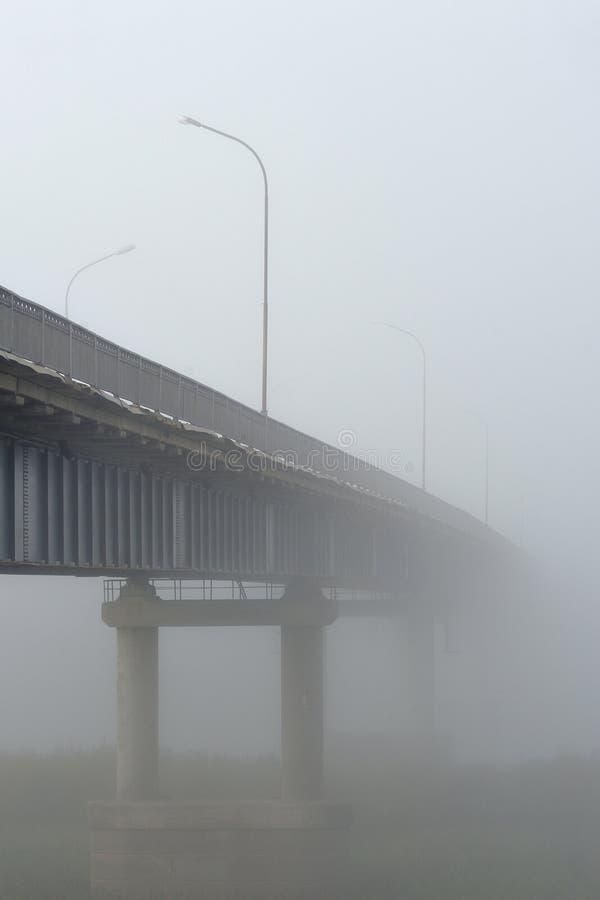 Мост к нигде стоковое изображение