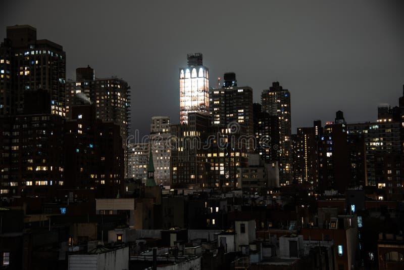 Ноча в верхнем Ист-Сайд стоковые фото