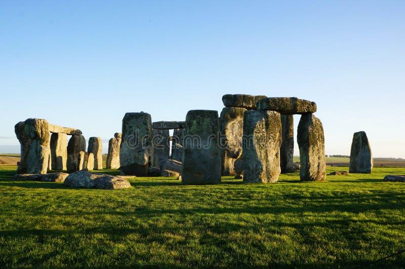 Памятник Стоунхендж в Англии стоковое фото
