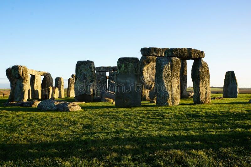 Памятник Стоунхендж в Англии стоковое фото rf