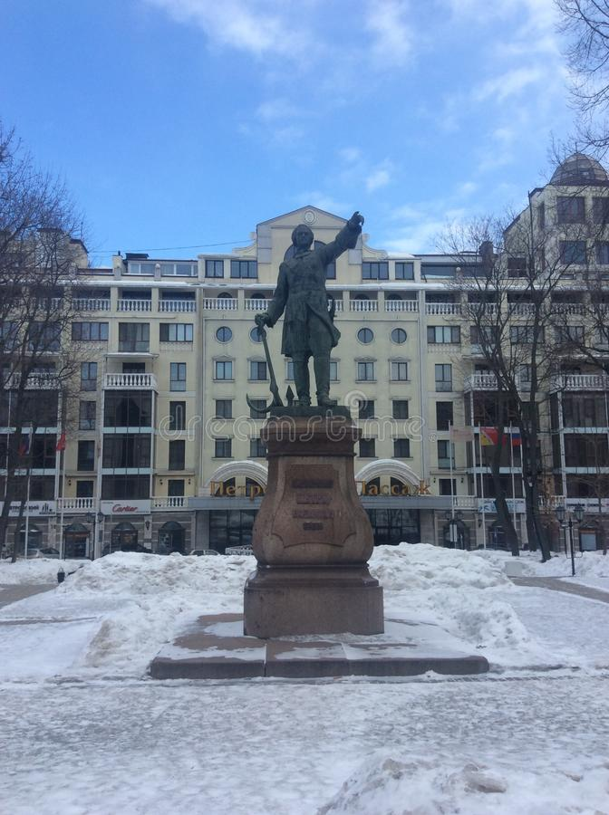 Памятник Piter большая стоковая фотография
