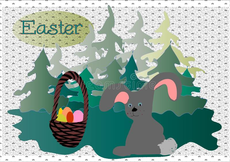 Easter  Easter Bunny   royalty free illustration