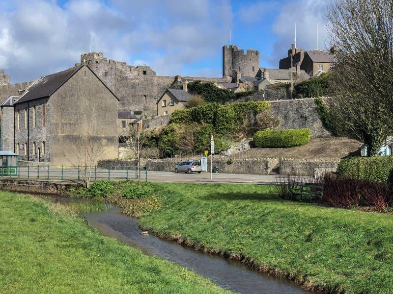 Пембрук - Pembrokeshire - Уэльс стоковая фотография