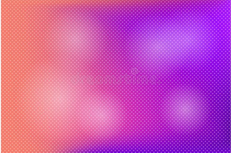 Light pink, coral purple vector background with bubbles. Blurred decorative design in abstract style with bubbles. vector illustration