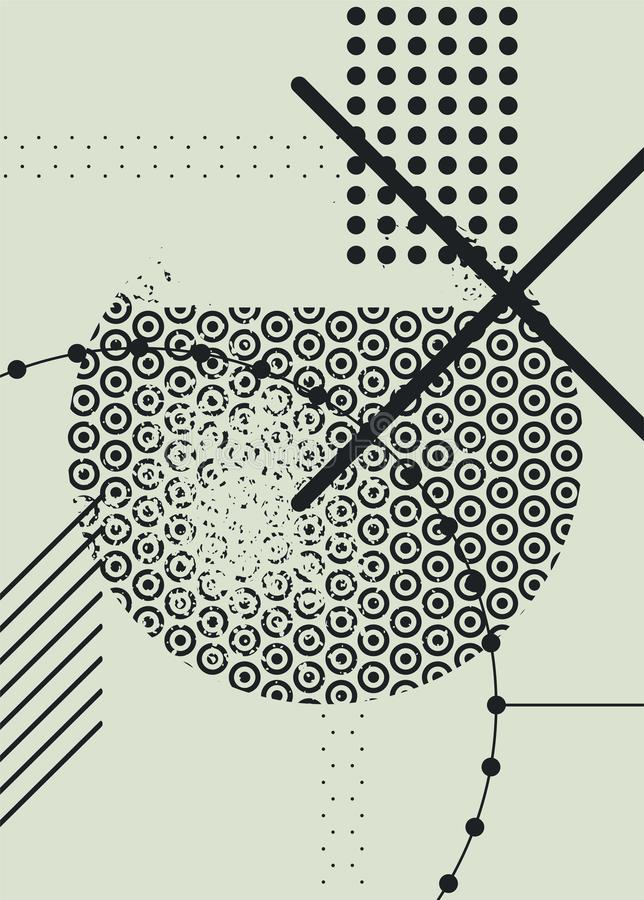 Abstract geometric pattern grunge background. Retro vector illustration. Abstract geometric pattern grunge background. Vector illustration vector illustration