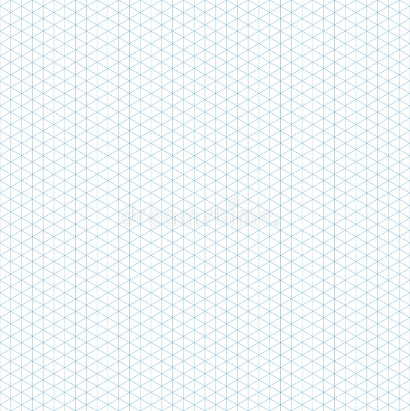 Seamless isometric grid pattern. Template for design vector illustration. Flat style royalty free illustration
