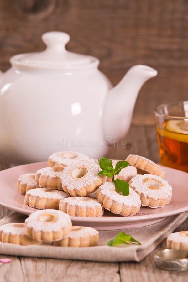 Печенья Canestrelli стоковые изображения rf