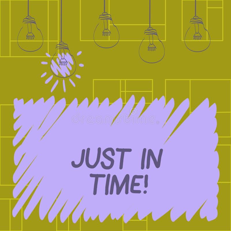 Пишущ примечание показывая как раз вовремя Приезжать фото дела showcasing точно на пунктуальность часа необходимую бесплатная иллюстрация