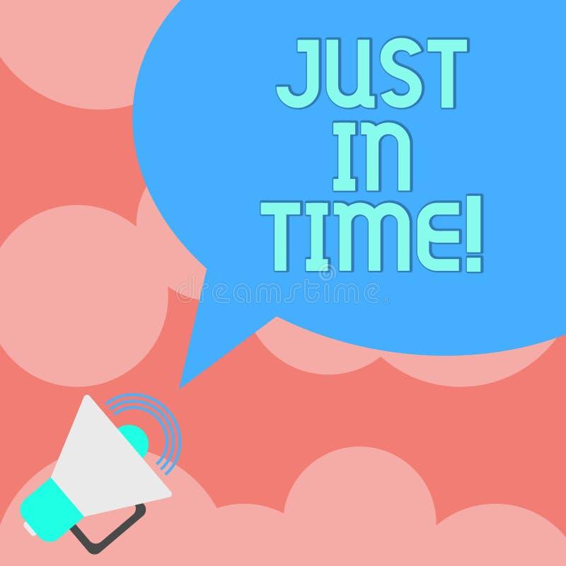 Пишущ примечание показывая как раз вовремя Приезжать фото дела showcasing точно на ответственность пунктуальности часа необходиму иллюстрация штока