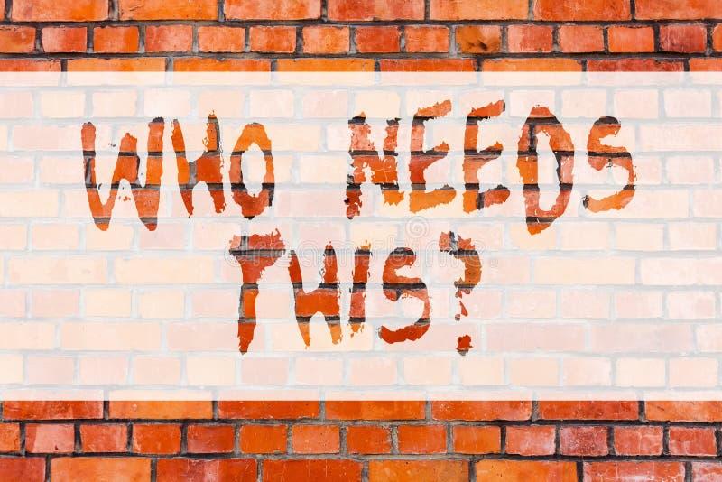 Пишущ показ примечания которому нужно это Фото дела showcasing спрашивающ если кто-то в потребности что-то в частности стоковая фотография rf