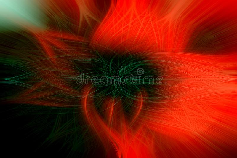 Пламенистый цветок ярких красных и черных цветов, как предпосылка бесплатная иллюстрация