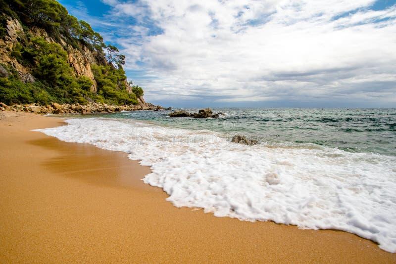 Пляж StCristina стоковая фотография