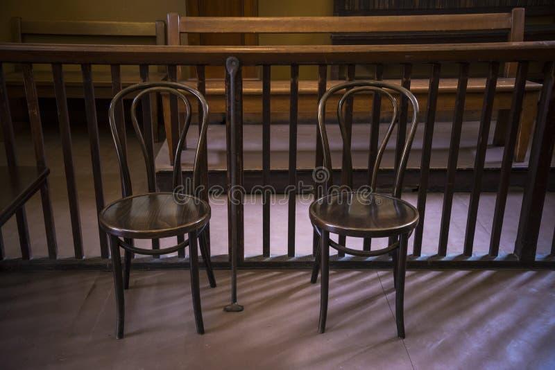 2 пустых стуль bentwood стоковые изображения rf