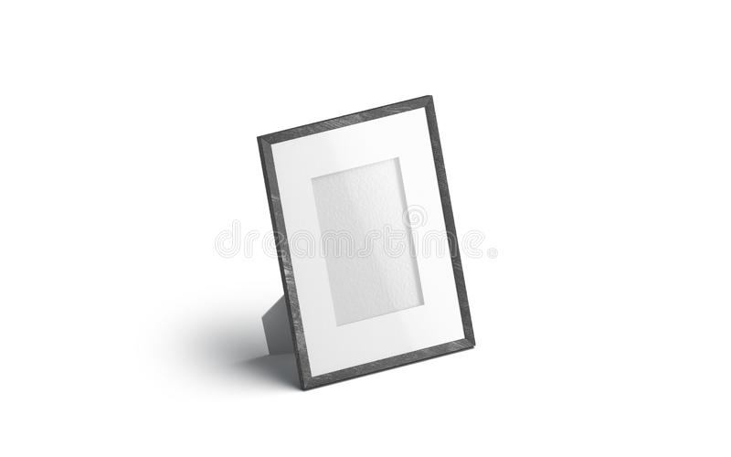 Пустой белый модель-макет рамки фото таблицы, изолировал, бесплатная иллюстрация