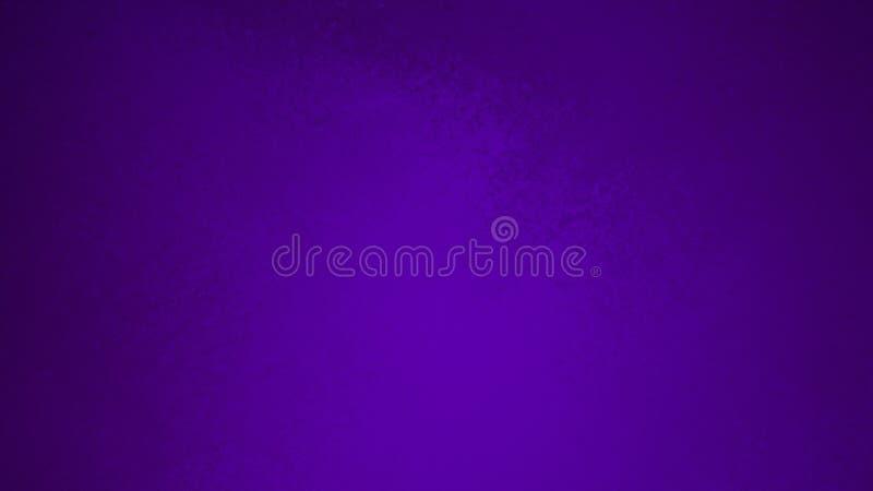 Пурпурная текстурированная предпосылка с элегантным дизайн помытый губкой или grunge года сбора винограда текстуры с темной черно бесплатная иллюстрация