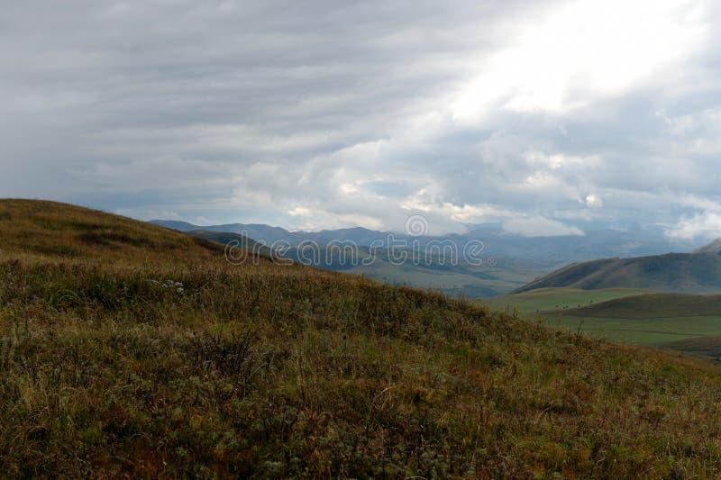 Предгорья осени Altai Западное Сибирь Россия стоковые изображения rf