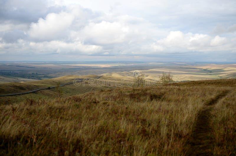 Предгорья осени Altai Западное Сибирь Россия стоковая фотография rf