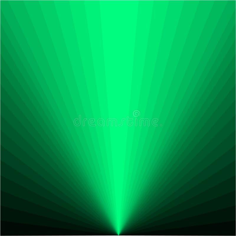 Предпосылка зеленых лучей бесплатная иллюстрация