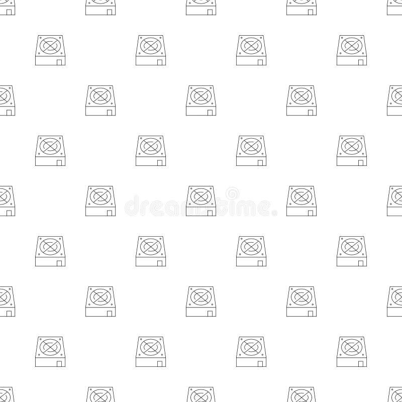 Предпосылка компьютера более крутая от линии значка линейная картина вектора бесплатная иллюстрация