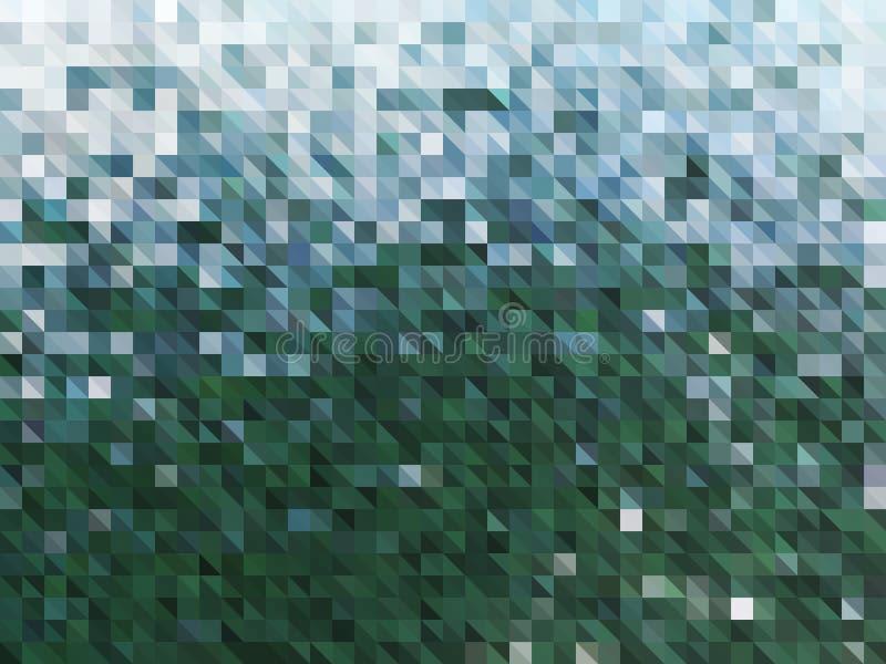 Предпосылка конспекта вектора зеленая воды иллюстрация вектора