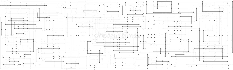 Предпосылка линии и точечного растра иллюстрация штока