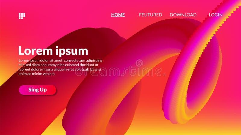 Предпосылка мадженты градиента смеси двигая пурпурная желтая современная для спорта бесплатная иллюстрация