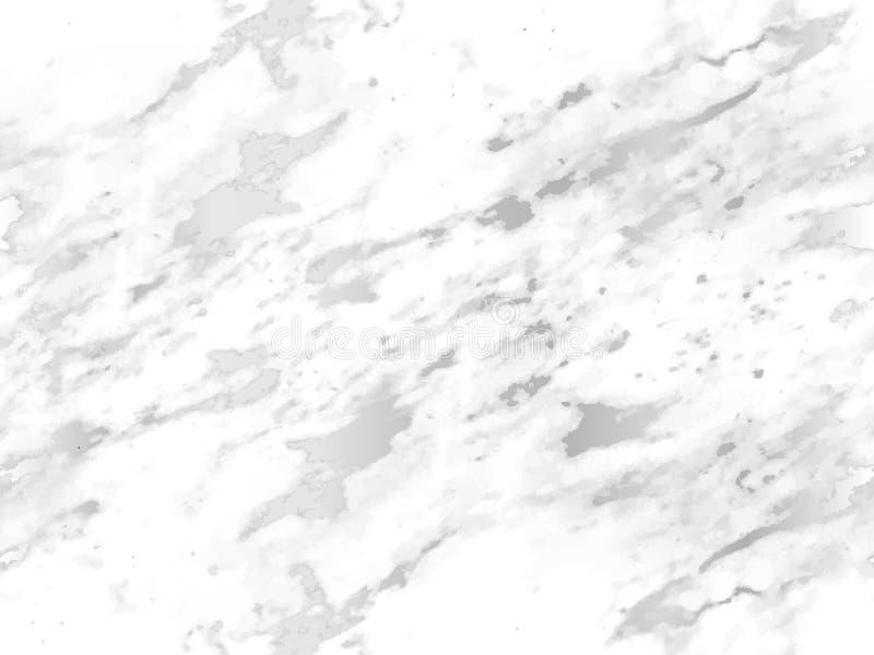 Предпосылка мраморной серебряной текстуры безшовная Абстрактный яркий блеск мраморизуя безшовную картину для ткани, плитки, дизай иллюстрация штока