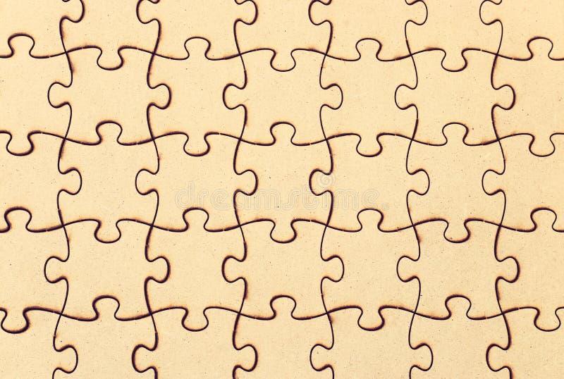 предпосылка деревянной головоломки стоковая фотография rf